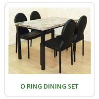 O RING DINING SET